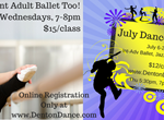 FB Cover July Dance Classes